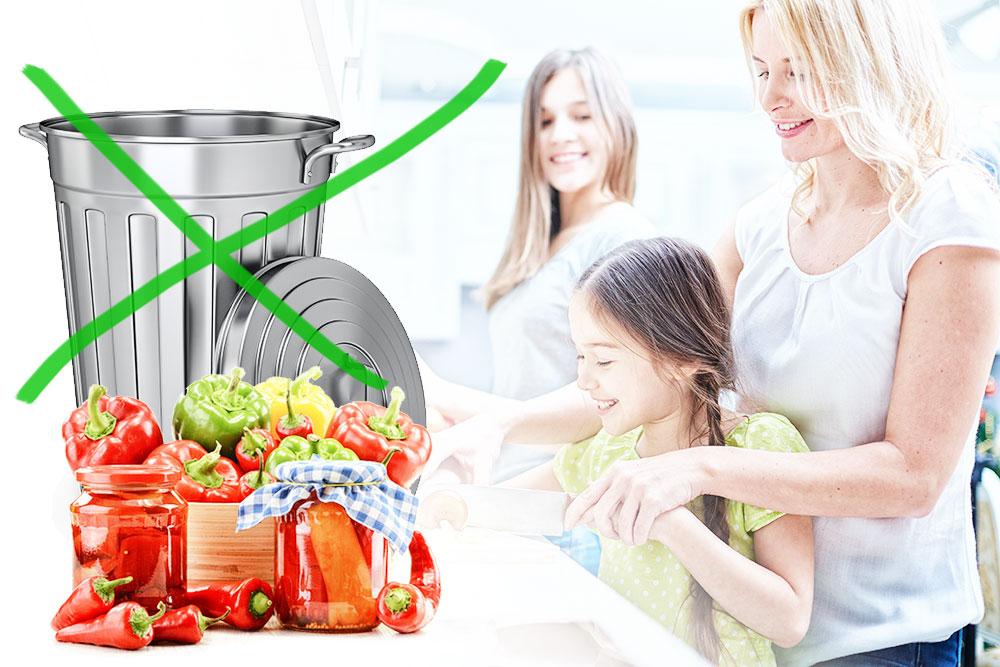 Food upcycling - Essen verwenden statt verschwenden