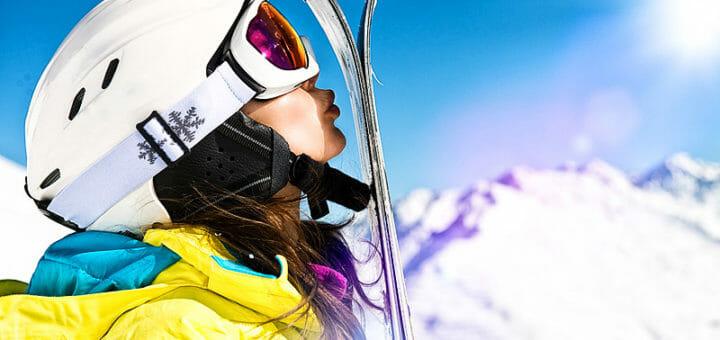 Skifahren ist gesund
