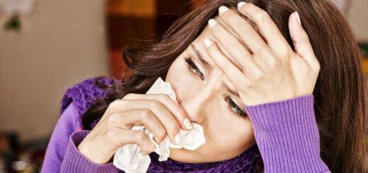 Erkältung - Was tun bei Schniefnase und Halskratzen?