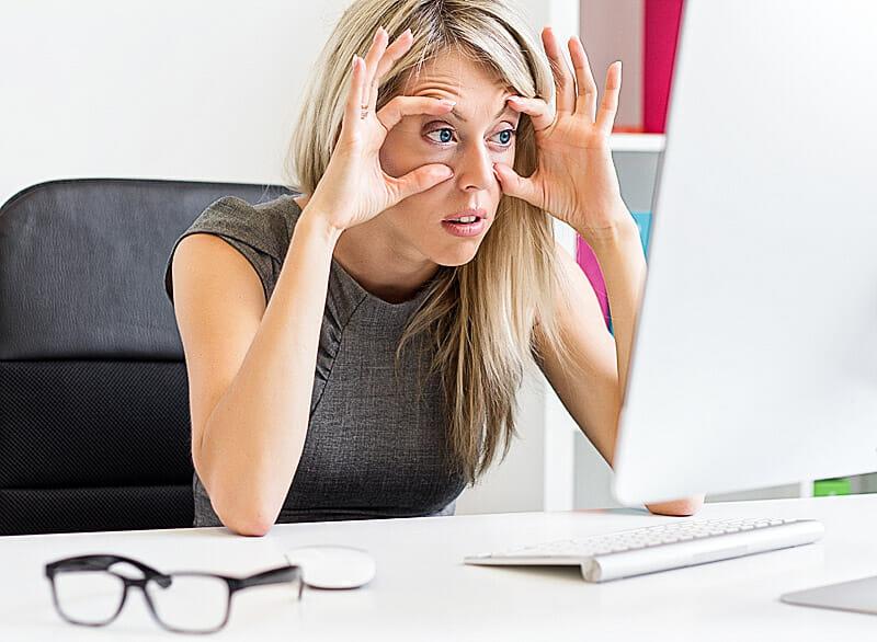 Home office: So schonen Sie Ihre Augen auch bei Arbeiten von Zuhause