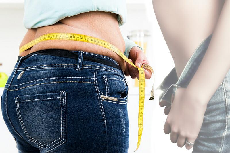 Bauchumfang messen zum- Abnehmen ohne Jojo-Effekt